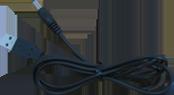 ③電源供給ケーブル